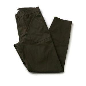 J Crew  Size 27 Skinny Pants High Rise Olive Green